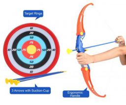 Amitasha Kids Archery Bow and Arrow Toy Set with Target Outdoor
