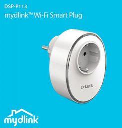 D-Link Mydlink DSP-P113 Wi-Fi Smart Plug (White)