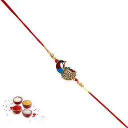 SG TRADERJaipuri Ethnic Design 10 Pc Handcrafted Fancy Rakhi