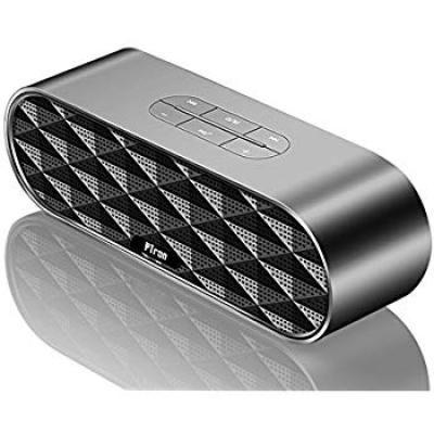 PTron Mojo Bluetooth Speaker 10W Wireless Mini Speaker Portable Bluetooth Dual BT Speaker with Mic (Black)