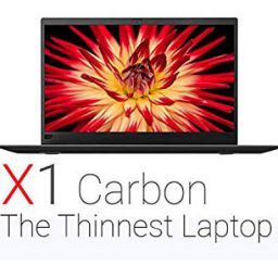 (Renewed) Lenovo ThinkPad X1 Carbon 14-inch Laptop (5th Gen Core i7/8GB/256 GB SSD/Windows 10/Integrated Graphics), Blac