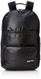 DURAPACK Omega 25 Ltrs Black Casual Backpack (PU2BLK)