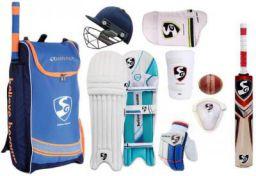 SG Comfipak Complete FULL SIZE Cricket Kit