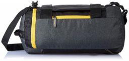 Gear New Maxis Duffel cum Backpack Grey- Yellow (METDFNMXS0412)