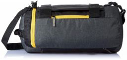 Gear Polyester 45 cms Grey and Yellow Travel Duffle (Metro New MAXIS DUFFELL Cum Backpack) (METDFNMXS0412)