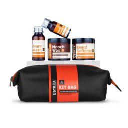Ustraa Beard Care Grooming Kit with Free Travel Bag