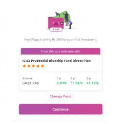 Piggy Mutual Fund: Free Mutual fund worth Rs.500