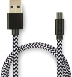 Ambrane CBM-15 1.5m Braided Micro USB Cable - Ambrane