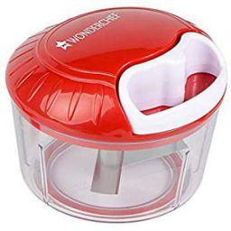 Wonderchef 63152570 String Jumbo Plastic Chopper, White/Red