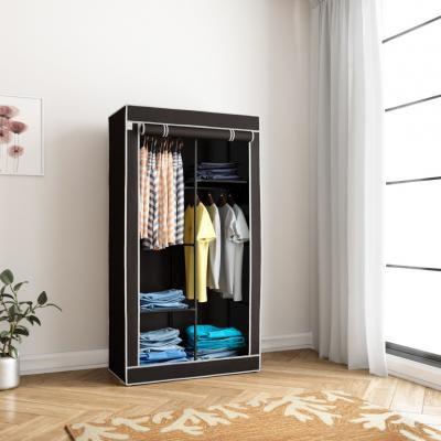 Flipkart SmartBuy Single Door 4 Shelf PP (Polypropylene) Collapsible Wardrobe