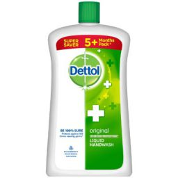 Dettol Original Liquid Handwash - 750 ml with Instant Hand Sanitizer - 50 ml