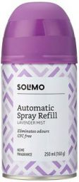 Amazon Brand - Solimo Automatic Air Freshener Refill - 250 ml (Lavender Mist)