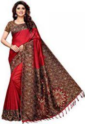 Indira designer art silk saree : Upto 89% Off