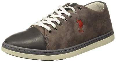 US Polo Association Shoes at Minimum 68% Off