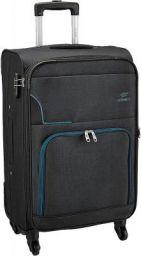 Princeware Basel Polyester 58 cms Black Softsided Cabin Luggage
