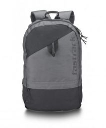 Fastrack 21 Ltrs Grey School Backpack