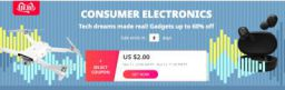 Aliexpress 11.11 Consumer Electronics sale
