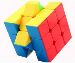 Miss & Chief High Speed Stickerless 3x3 Magic Rubik Cube Puzzle Game Toy