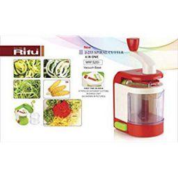 Ritu Spiral Vegetable Cutter, Potato Spiral Cutter, Slicer, Chips Twist Shredder (Potato Tornado Twister)