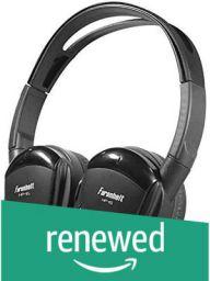 (Renewed) Power Acoustik Power Acoustik HP12S Wireless Headphones (Black)