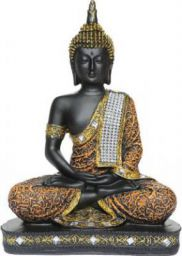 Heeran Art Vastu Fangshui Religious Idol of Lord Gautama Buddha Statue ORB Decorative Showpiece - 24 cm