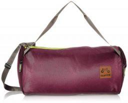 Footloose Polyester 42 cms Wine Gym Bag (Cicero) for Men and Women