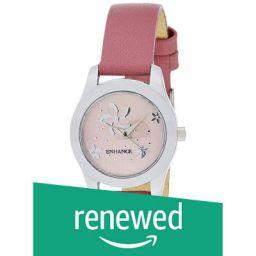 (Renewed) ENHANCE Analog Pink Dial Women's Watch-EN2001SL