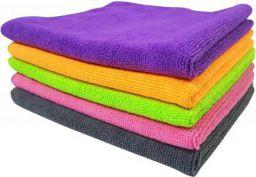 Automotive Microfibre Towels for Car Bike Cleaning Polishing Washing & Detailing