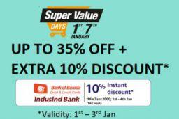 Amazon Super Value Days Offer- 10% Discount via SBI | 1st-3rd June