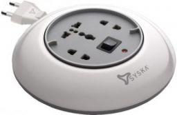 Syska Power Wheel Extension Board 3 Socket Surge Protector