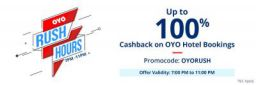 Up to 100% Cashback on OYO Hotel booking on Paytm