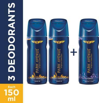 Park Avenue Deodorant (Pack of 3)