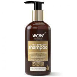 WOW Anti Dandruff No Parabens & Sulphate Shampoo, 300mL