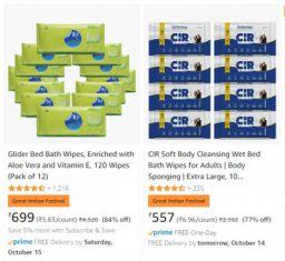 Adult Diapers at Minimum 64% off