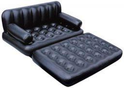 Bestway Karmax Three Seater Sofa Cum Bed (Black)