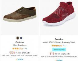 Centrino Shoes at Minimum 74% off