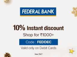 Bigbasket Federal Bank Offer: Extra 10% Off