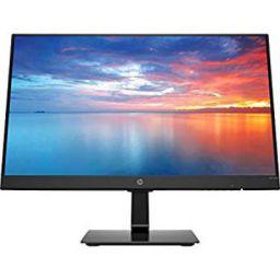 HP 21.5-inch (54.61 cm) Ultra-Slim Full HD Anti Glare IPS Display Monitor with VGA and HDMI Ports - 3WL45AA (Black)