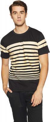 Cloth Theory Men's Striped Regular Fit T-Shirt