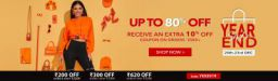SHEIN Year End Sale: Up to 80% off + 10% Cashback + Coupon Offer