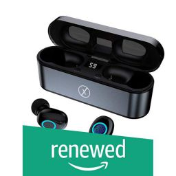 (Renewed) Xmate Gusto Lite in-Ear True Wireless Bluetooth Headphones (TWS) - (Black)