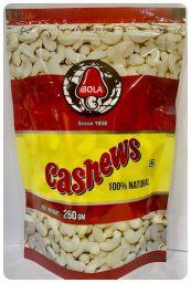 Premium Quality Cashew Nuts NW, 250 Grams