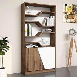 Bravo Home Bookcase (Walnut)