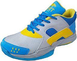 Port Unisex Adult Blue Badminton Shoes-9 UK (43 EU) (10 US) (LABRRON)