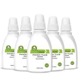 Emeveta Herbal Organic Pure Panch Tulsi Ark Drops Immunity Booster 20ml