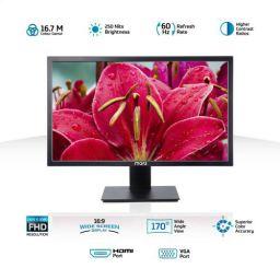 MarQ by Flipkart 21.5 inch Full HD LED Backlit Monitor (MA22MN)  (HDMI, VGA)