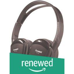 (Renewed) Power Acoustik HP11S Swivel Wireless Headphones (Black)
