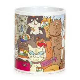 Chumbak Cats of India Coffee Mug