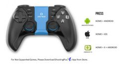 Live Tech GPW01 Wireless Gamepad for Smartphones, Android TV | Compatible Game Pad for PUBG & Others