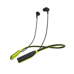(Renewed) Wings Glide Neckband Latest Bluetooth 5.0 Wireless Earphones Headphones Earbuds 10 Hours Playtime Built-in Woofers for Extra Bass and Siri Google Assistant Control (Lime Green)